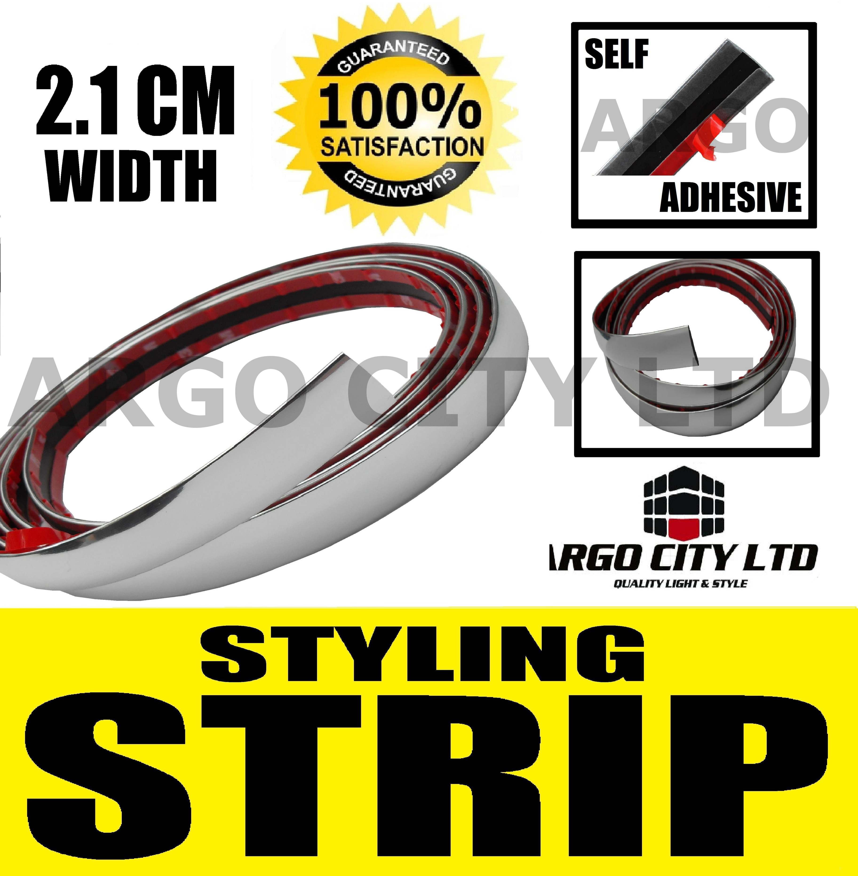 CHROME STYLING STRIP AUDI A2 A3 A4 A6 A8 TT S3 S4 Q5 Q7